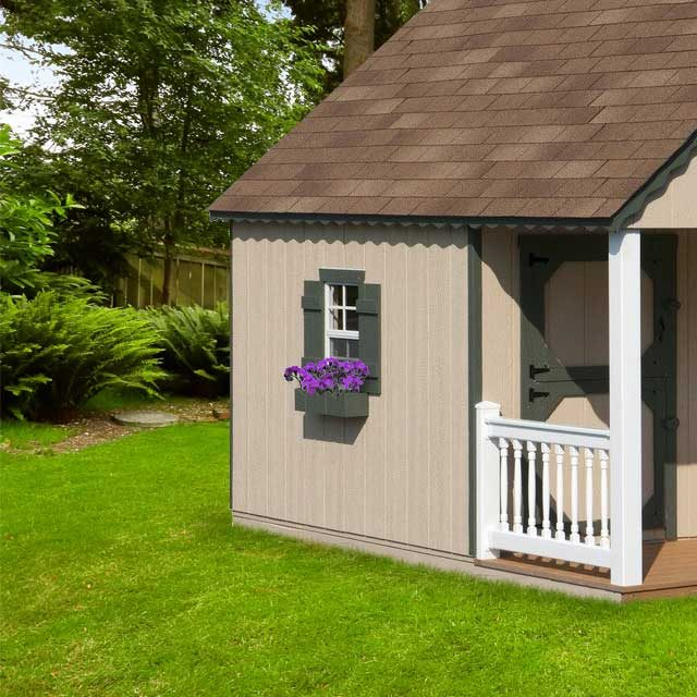extra exterior options for kids playhouses