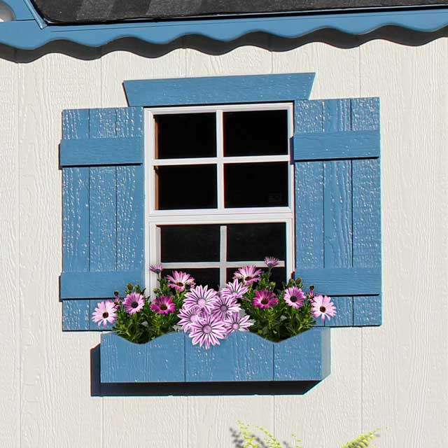 playhouse flower boxes