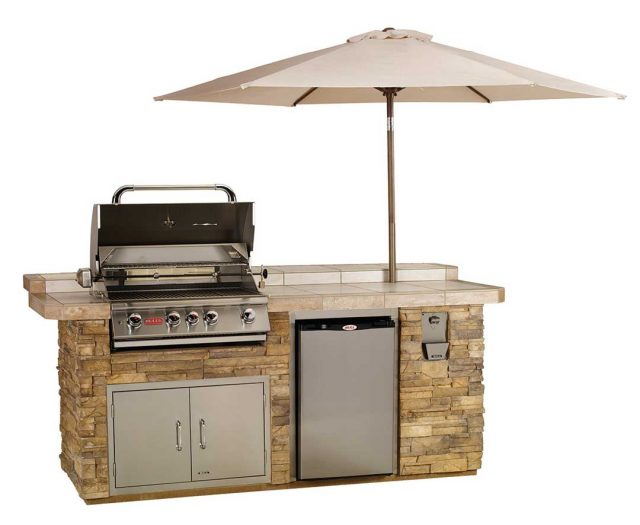 Aspen Outdoor Kitchen Island