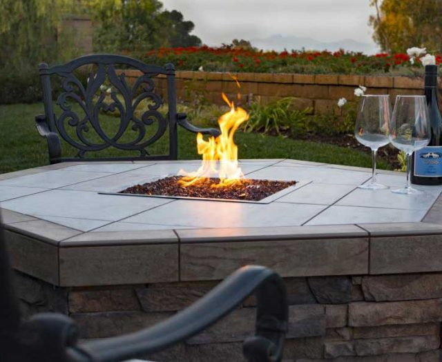 Hexagon Fire Pit