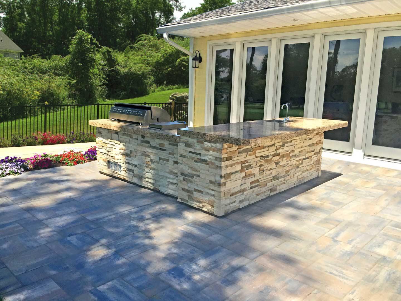 Custom Built-In Kitchen Islands | Best in Backyards on Custom Backyards id=90325