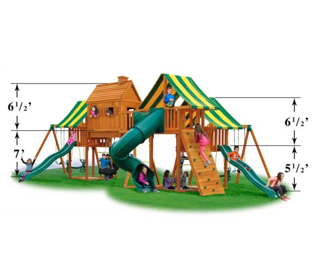 Imagination #1 Cedar Playset