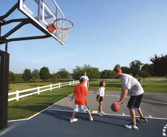MVP Series In-Ground Basketball Hoop