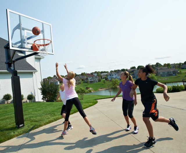 All American Series In-Ground Basketball Hoop