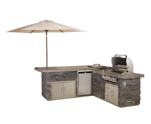 Gourmet Q Kitchen Island
