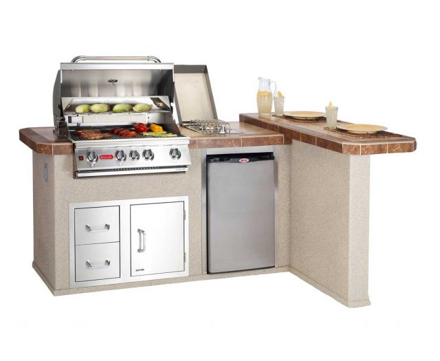 Luxury Q Kitchen Island