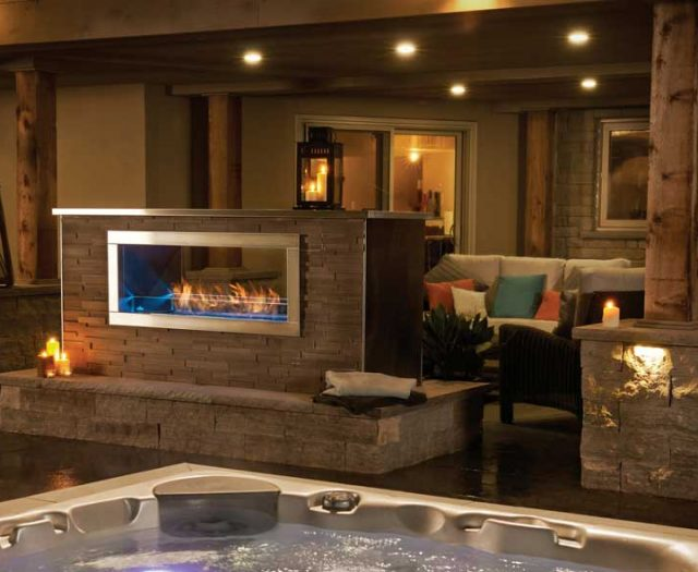 Galaxy 48 Outdoor Fireplace