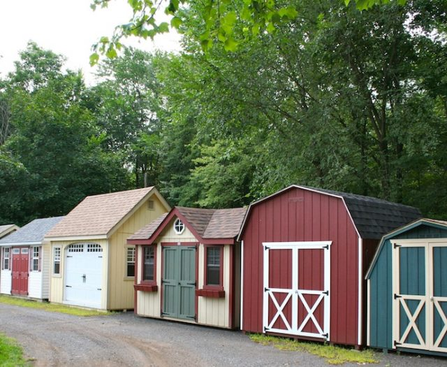 Outdoor Storage Sheds and Garages on Sale CT
