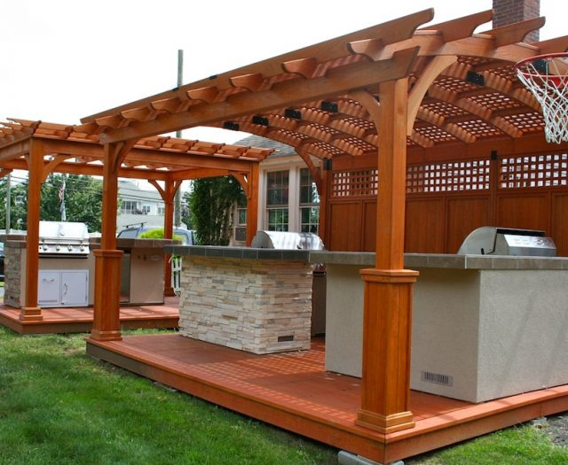 Pergoals, Pavilions and Outdoor Kitchens 2 Connecticut