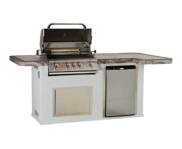 Power BBQ Kitchen Island