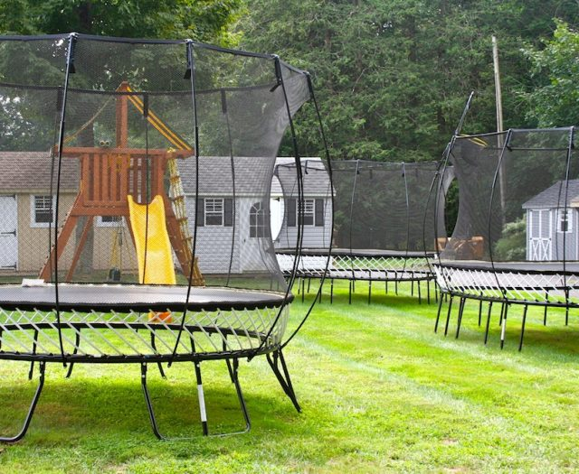 Springfree Trampolines on Display at Best in Backyards in Cheshire CT
