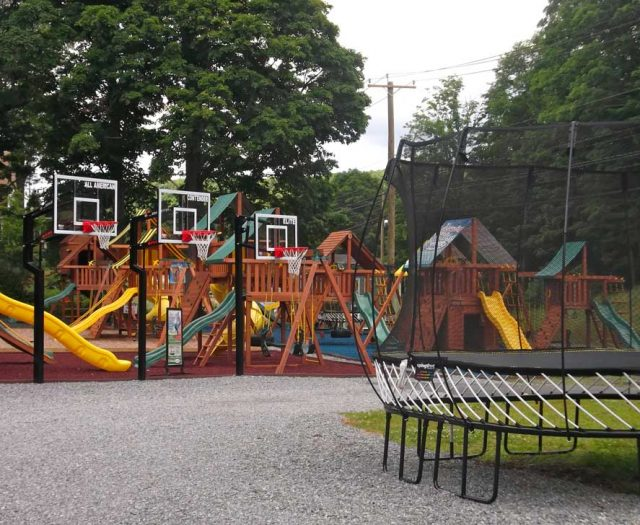 Swing Sets and Trampolines for Sale