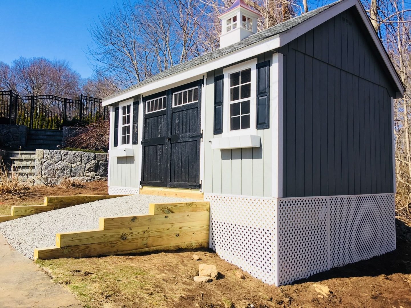 Site Preparation | Storage Sheds | NY & CT | Best in Backyards