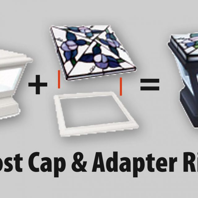 post cap and adapter ring