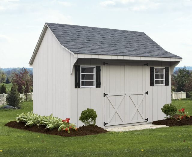 Amy Palmer - Backyard Cape T-11 Storage Shed 10x12