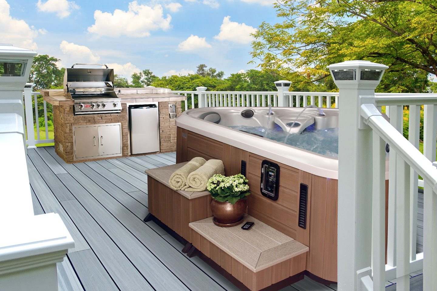 Amy-Palmer---Composite-Deck-with-Outdoor-Kitchen-Island-and-Hot-Tub