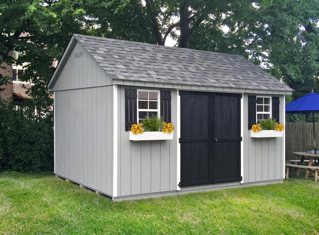 a frame sheds garden storage shed elite outdoor sheds ny ct. Black Bedroom Furniture Sets. Home Design Ideas