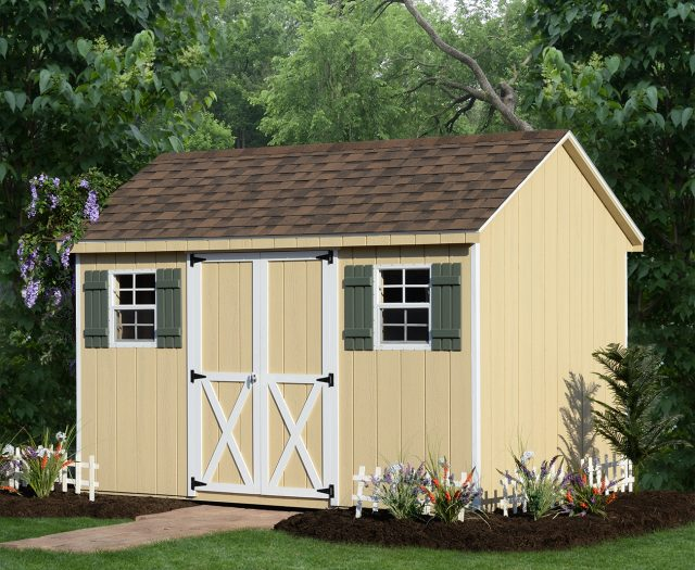 Backyard Series A-Frame Storage Shed