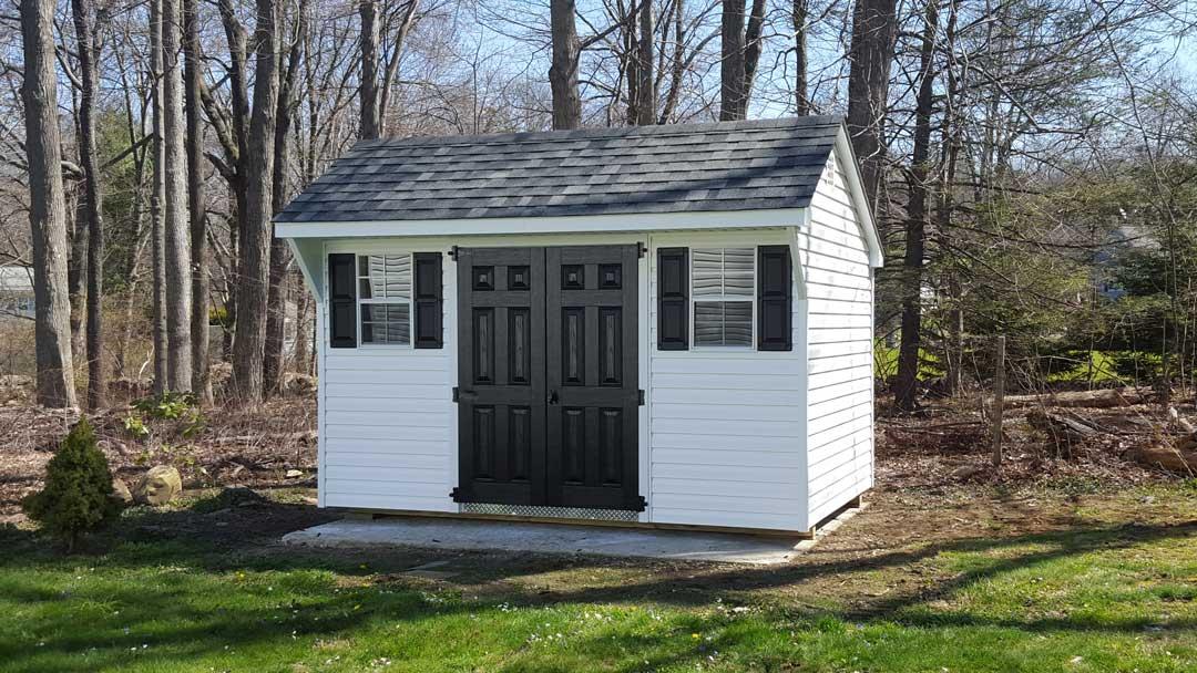 Backyard Series Quaker Storage Shed