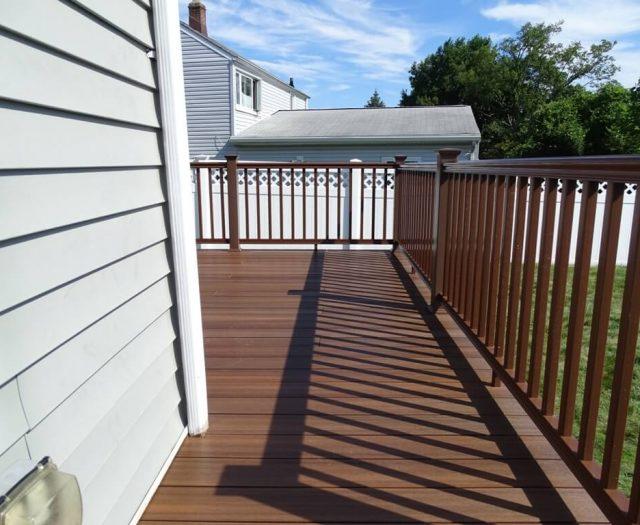 new vinyl railing installation in yonkers ny