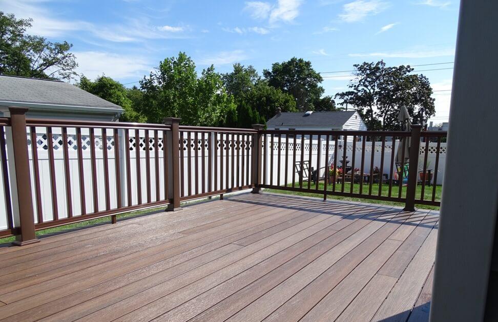 smooth composite deck