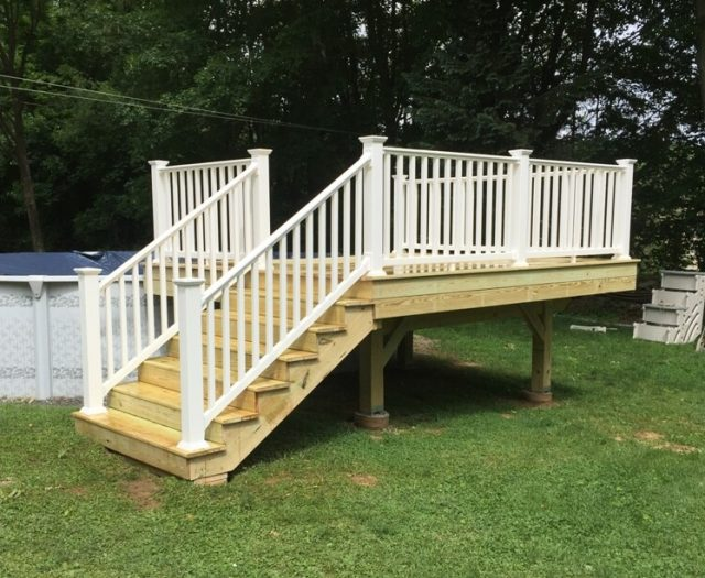 wooden deck builders in brewster ny