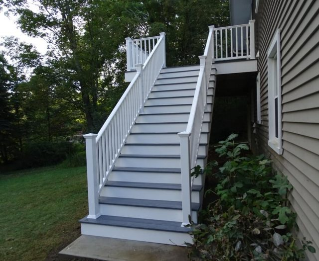 deck stair installation in mahopac ny