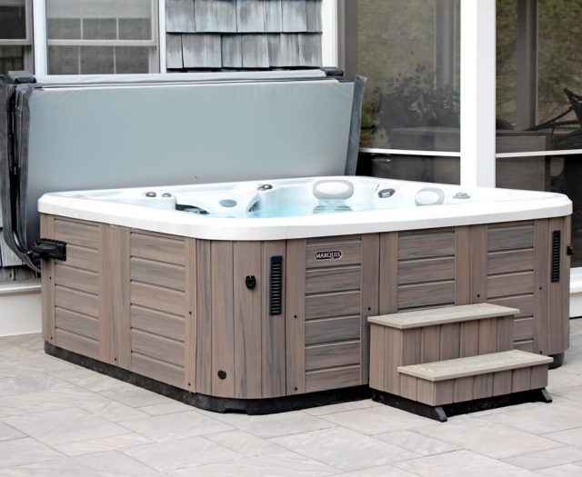 Marquis Euphoria Hot Tub with Step II