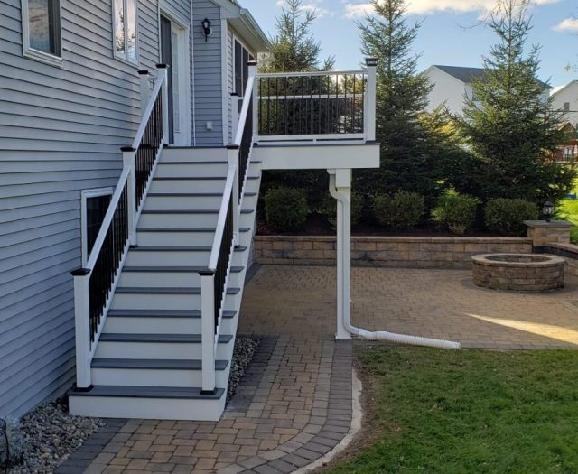 new backyard deck remodel