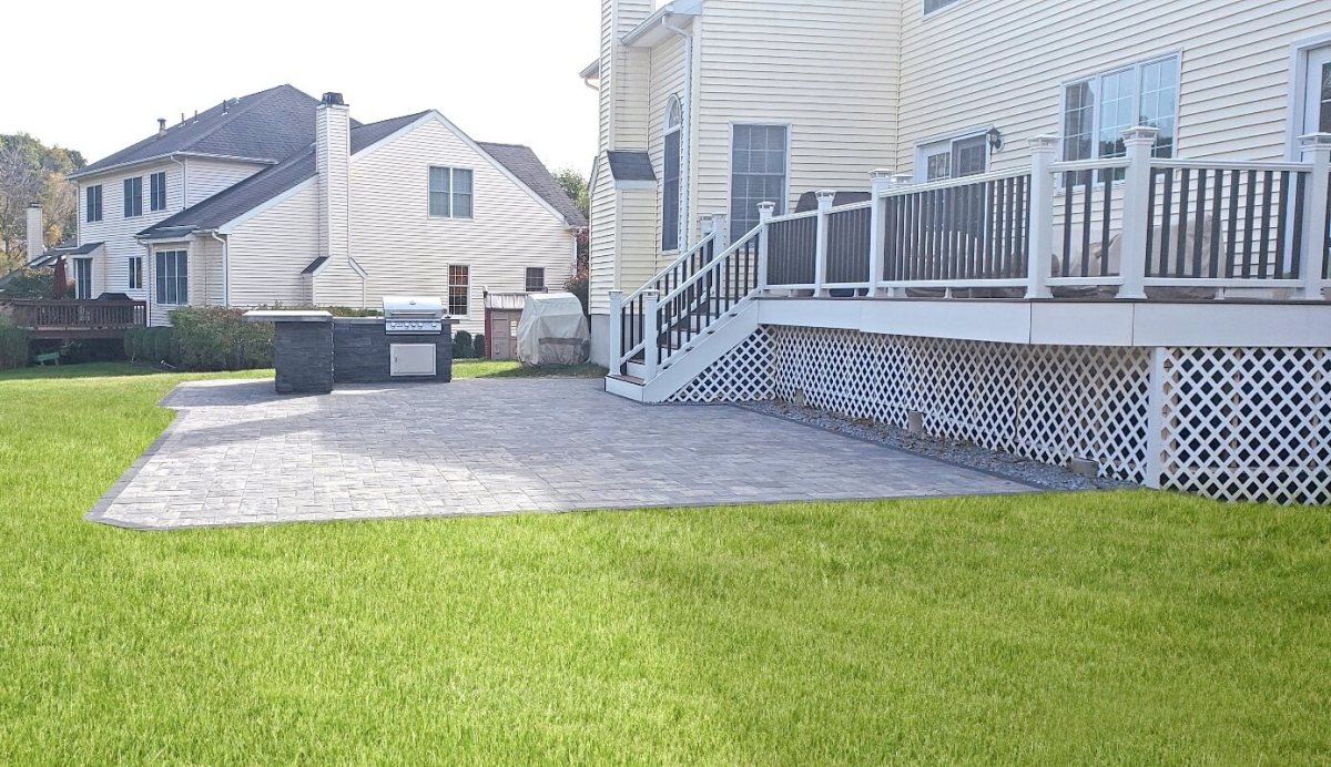 Beautiful New Patio Installed By Best In Backyards