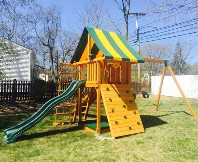 Dream Backyard Playset with Sandbox
