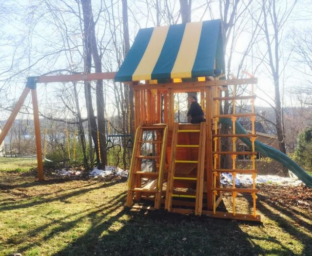 Dream Outdoor Playset With Step Ladder