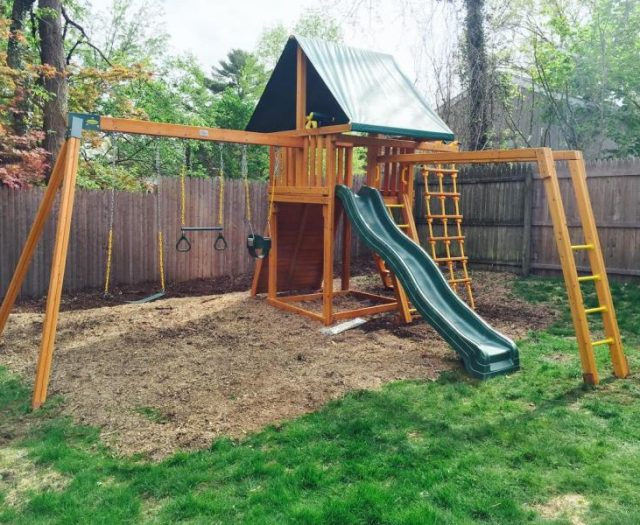 Dream Playset with Monkey Bars