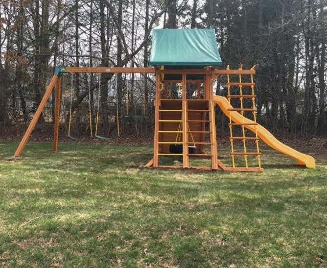 Supreme Backyard Playset Delivery and Installation