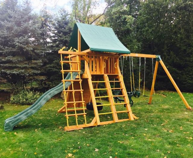 Supreme Outdoor Playset Delivered and Installed
