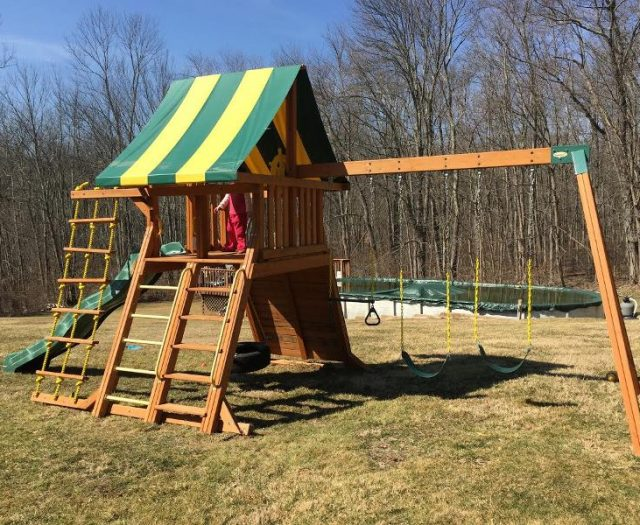 Supreme Swing Set Installtion and delivery