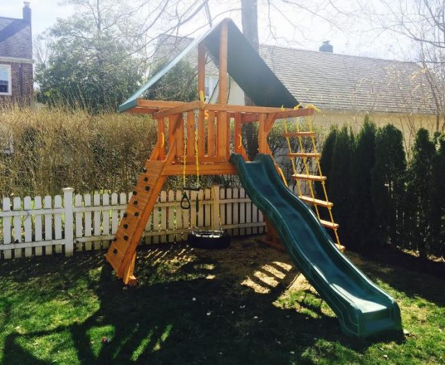Supremescape Outdoor Playset without Swing Beam