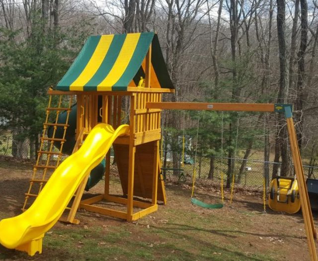 Ultimate Outdoor Playset with Spiral Slide