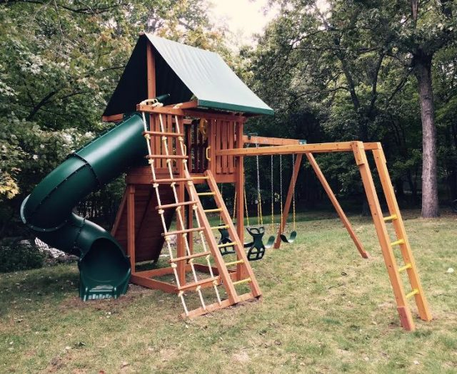 Ultimate Outdoor Swing Set Delivered and Installed
