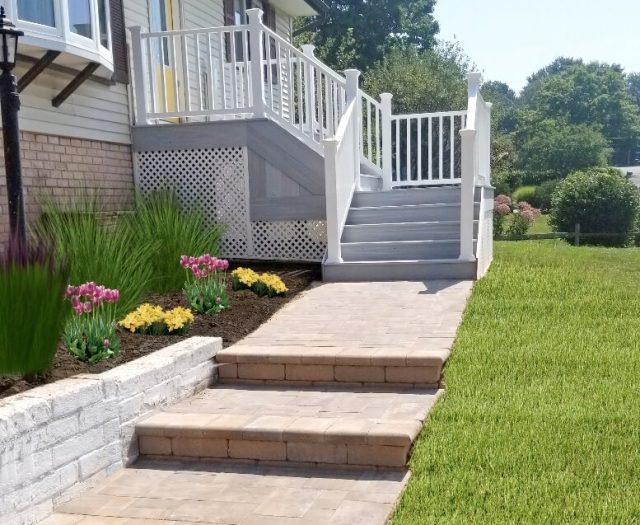 paver walkway installation in poughkeepsie ny