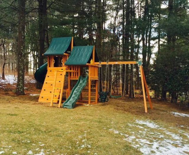 Cedar Sky Playground with monkey bars