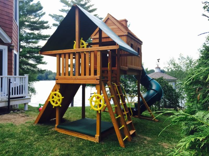 Fantasy Tree House Cabin Backyard Playset Ny Amp Ct