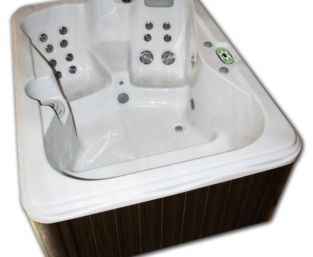 Garden Spas Iris Hot Tub Side