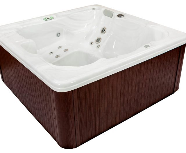 Garden Spas Wisteria Hot Tub Side