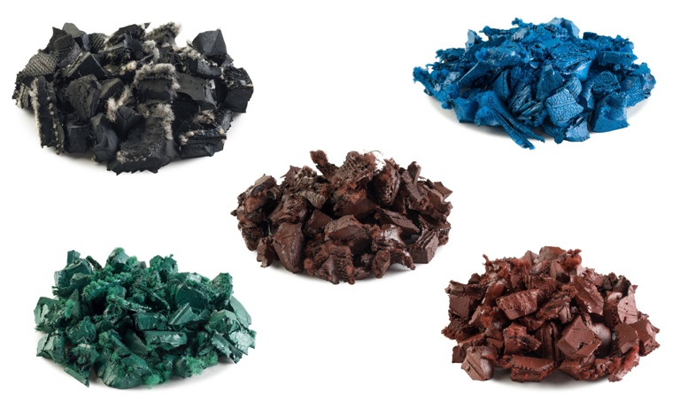 rubber mulch color options