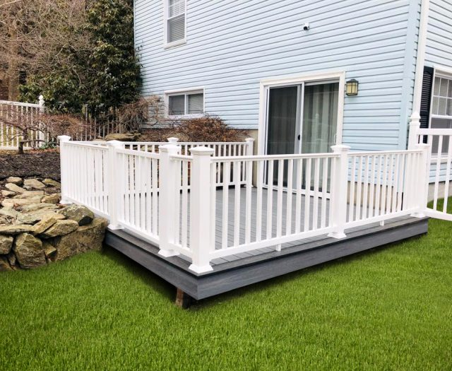 newtech composite decking materials in mahopac ny