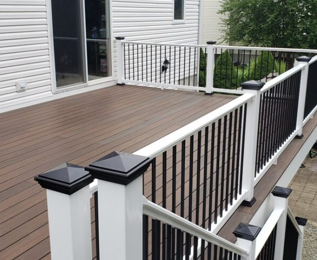 walnut decking