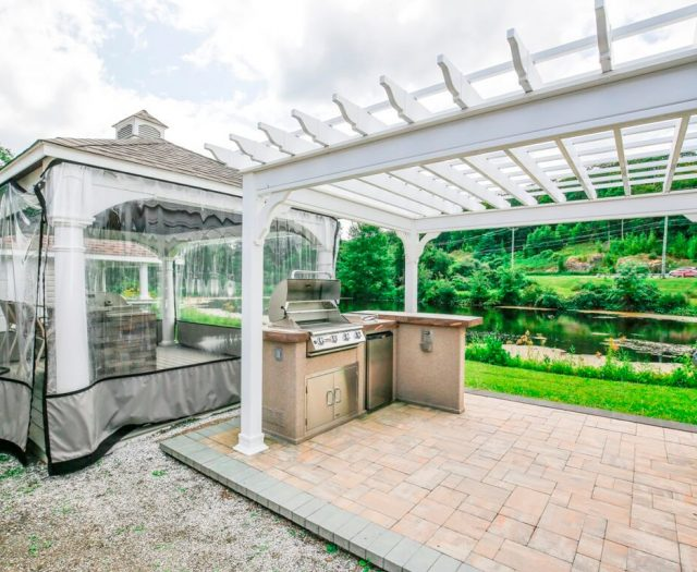 Pergolas Pavilions and Patios Connecticut