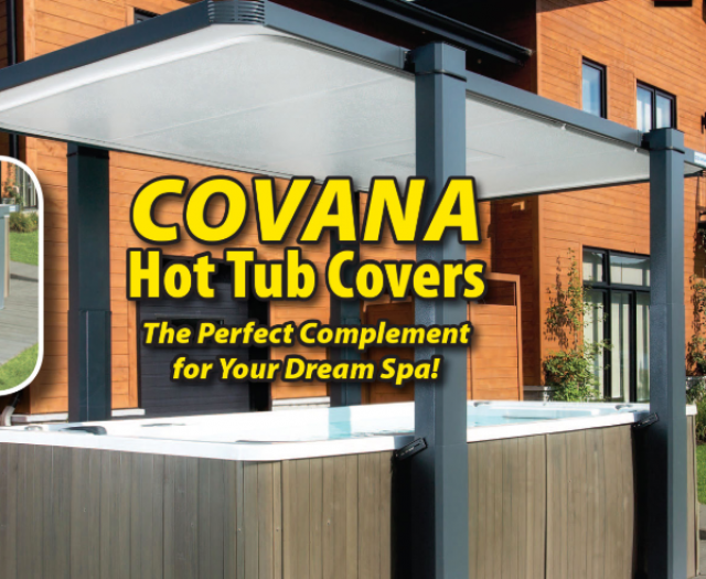 Everything You Need To Know About the Covana Hot Tub / Exercise Pool Covers