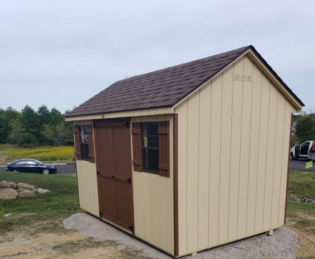 10x12 Backyard A Frame Storage Shed